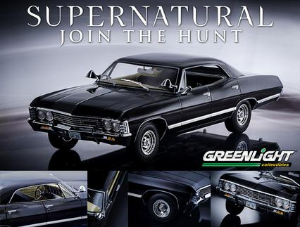 Supernatural 1967 4 Door Chevy Impala Sport Sedan 1 18 Die