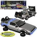 BACK TO THE FUTURE II DELOREAN EXCLUSIVE DIE-CAST CAR