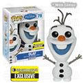 POP! ENTERTAINMENT EARTH EXCLUSIVE FROZEN GLITTER OLAF
