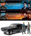 SDCC 2016: SUPERNATURAL EXCLUSIVE 1:18 DIECAST IMPALA W/EXCLUSIVE CASTIEL & CROWLEY (ATTENDEE)