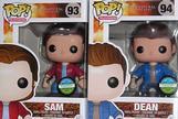 SUPERNATURAL BLOODY SAM, DEAN, CROWLEY POP VINYL BUNDLE