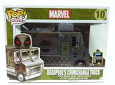 POP! RIDES: DEADPOOL CHIMICHANGA TRUCK 2015 CONVENTION EXCLUSIVE
