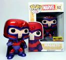 POP! VINYL HOT TOPIC EXCLUSIVE MARVEL METALLIC MAGNETO