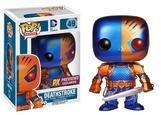 POP! HEROES DEATHSTROKE PX VINYL FIG METALLIC
