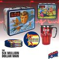 SIX MILLION DOLLAR MAN TIN TOTES & GIFT SET