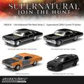 GREENLIGHT 1:64 HOLLYWOOD FILM REEL: SUPERNATURAL 4-CAR SET