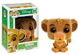 POP DISNEY: HOT TOPIC EXCLUSIVE FLOCKED SIMBA VINYL FIGURE