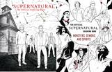 SUPERNATURAL COLORING BOOK SET (2)